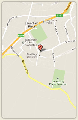 Map of Launch Valley Massage Therapy
